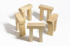 Henge de madeira Imagem de Stock Royalty Free