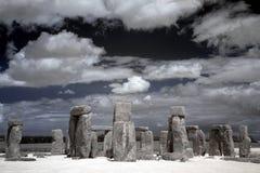 Henge de pedra, Inglaterra, Reino Unido imagens de stock royalty free