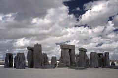 Henge de pedra, Inglaterra, Reino Unido imagens de stock