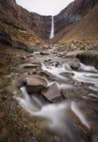 Hengifoss w Iceland Obraz Royalty Free
