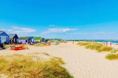Hengistbury head beach Stock Images