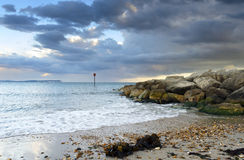 Hengistbury Head Beach Royalty Free Stock Photo