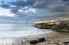 Hengistbury Head Beach Royalty Free Stock Photo