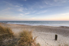Hengistbury Head Beach Stock Photo