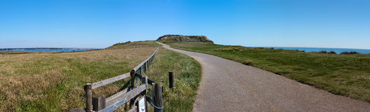 Hengistbury Head Path Royalty Free Stock Image