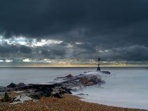 Hengistbury Storm Stock Photography