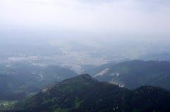 Hengshanberg in Hunan China Stock Afbeelding