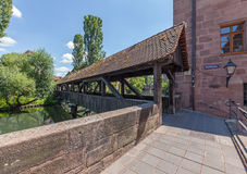 Henkersteg On Pegnitz Stock Image