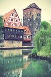 Henkerturm tower in Nuremberg Royalty Free Stock Photo
