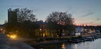 Henley auf Themse stockfotografie