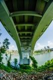 Henley Bridge über Tennessee River Knoxville lizenzfreies stockfoto