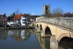 Henley en Thames Imagen de archivo libre de regalías