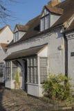 Henley. High street Henley in Arden village town warwickshire england Midlands uk Royalty Free Stock Photos