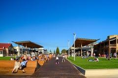 Henley Square, Süd-Australien stockfotos