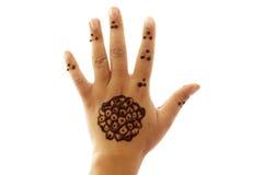 Henné de tatouage Photos libres de droits