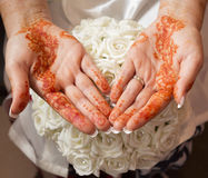 Henn ręki Fotografia Royalty Free