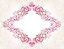 henna διαμαντιών Στοκ Φωτογραφία