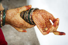 Henna δερματοστιξία Στοκ εικόνες με δικαίωμα ελεύθερης χρήσης