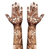 Henna δερματοστιξία Στοκ εικόνα με δικαίωμα ελεύθερης χρήσης