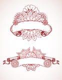 henna κορδέλλες Στοκ φωτογραφία με δικαίωμα ελεύθερης χρήσης