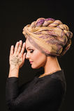 Henna, μόδα, κορίτσι, κυρία, makeup, δερματοστιξία, πέπλο, Ασιάτης, musl Στοκ εικόνες με δικαίωμα ελεύθερης χρήσης