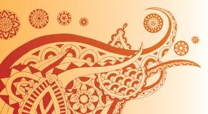 henna στρόβιλος Στοκ φωτογραφία με δικαίωμα ελεύθερης χρήσης