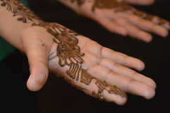 Henna σχέδιο στοκ φωτογραφία με δικαίωμα ελεύθερης χρήσης