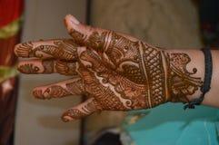 Henna σχέδιο στοκ φωτογραφίες με δικαίωμα ελεύθερης χρήσης