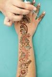 henna σχεδίων Στοκ Εικόνες