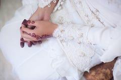 Henna χέρι Στοκ Εικόνες