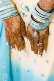 henna χεριών Στοκ φωτογραφίες με δικαίωμα ελεύθερης χρήσης