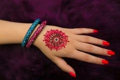 henna Fotografia de Stock