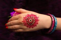 henna Imagens de Stock
