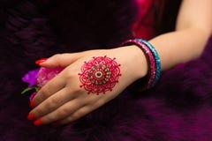 henna Fotografia de Stock Royalty Free