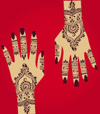 henna Royaltyfri Fotografi
