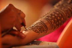 Henna Art Stock Photos