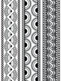 Henna Borders royalty free stock image