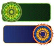 Henna Borders Pattern Stock Photos