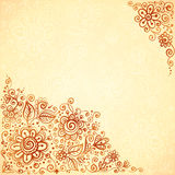 Henna colors flourish artistic background Royalty Free Stock Photo