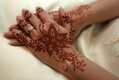 Henna Deco Royalty Free Stock Photos