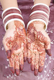 Henna design Stock Images