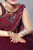 Henna design Royalty Free Stock Photography