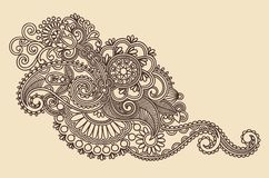 Henna Design Element Stock Photos