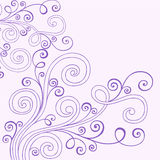 Henna Doodle Swirls Vector Stock Photography