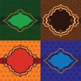 Henna Frames Stock Images