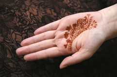 Free Henna Hand Stock Images - 16469064