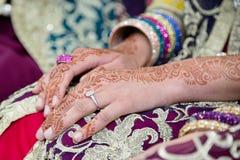 Henna Hand Royaltyfria Foton