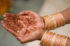 Henna HandArt Royalty Free Stock Photography