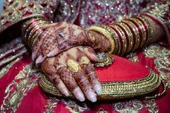 Henna Hands Foto de Stock Royalty Free