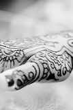 Henna Hands Stock Image